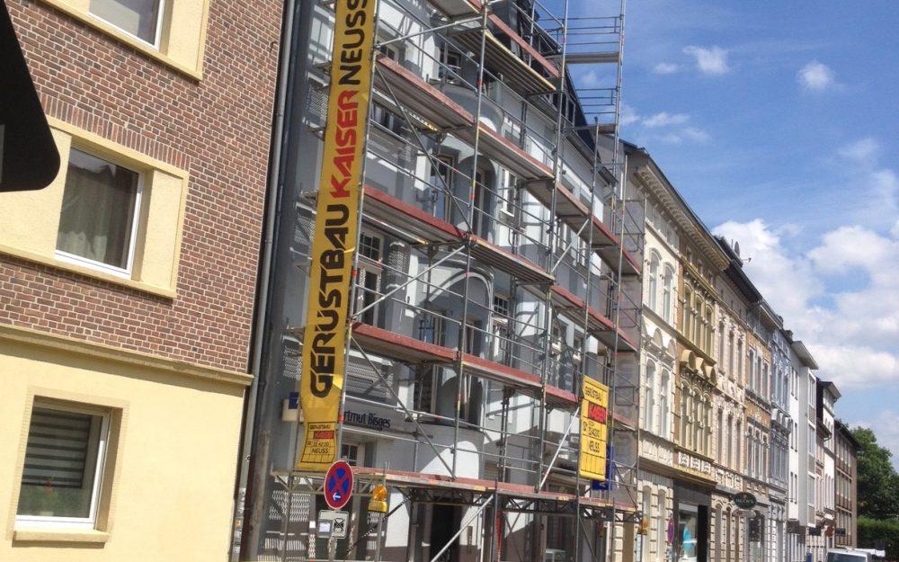 Fassadengerüst Büttgerstraße Neuss