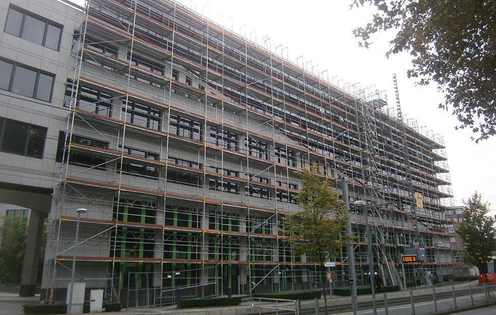 Fassadengerüst Ratingen Verwaltungsgebäude Gerüstbau Kaiser